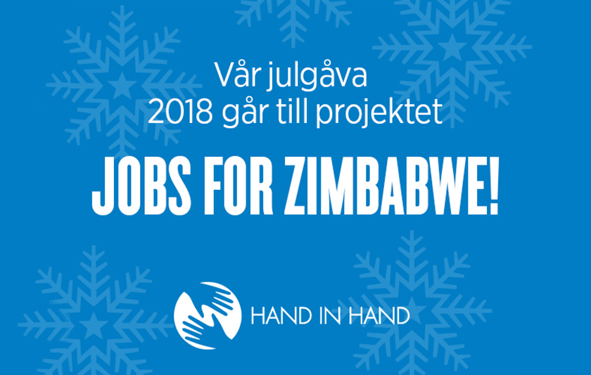 Hand in hand julgåva