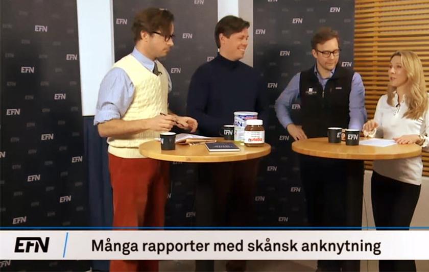 fyra personer i tv studio