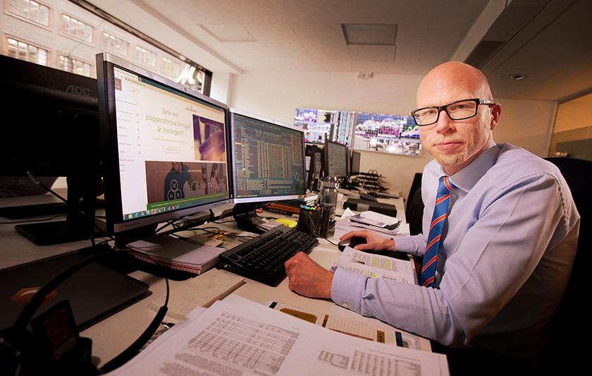 Mattias Eriksson pratar om Munters i DiTV