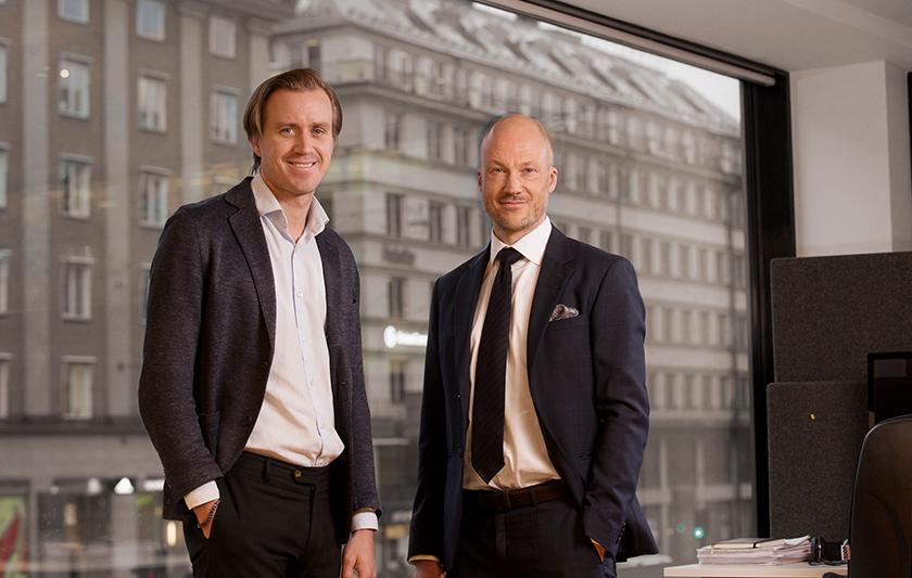 Jakob Petersson, Hendrik Versteegh & Erik Lundkvist i Privata Affärer
