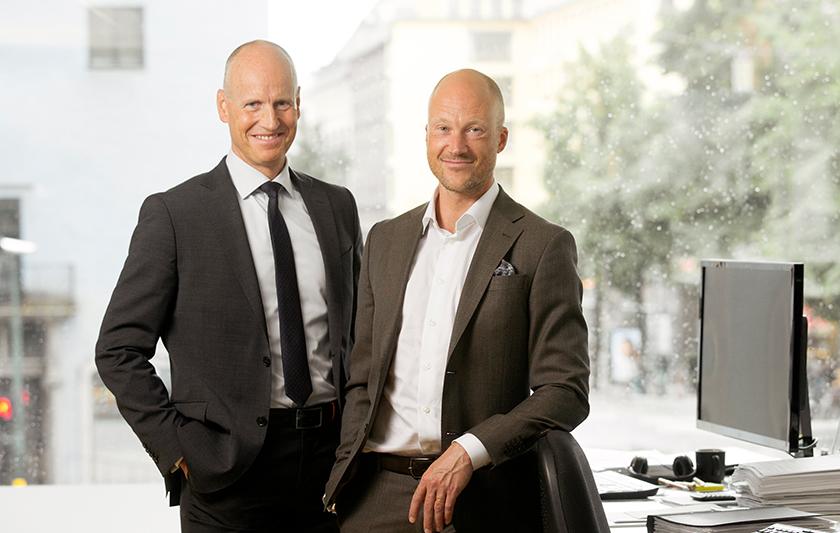 Arne Lundberg och Erik Lundkvist med i Privata Affärer