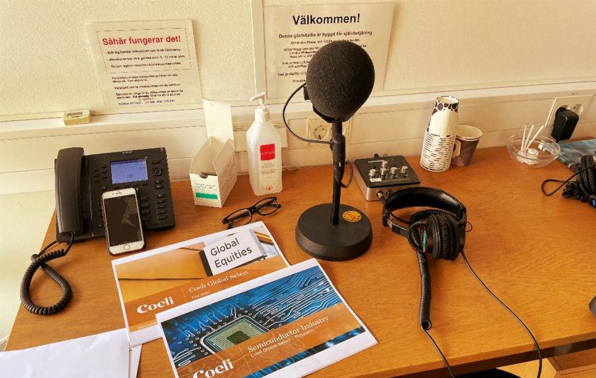 Coeli Global Select medverkar i programmet Vetenskapsradion